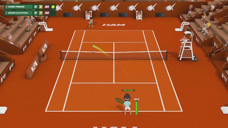 Super Tennis Blast