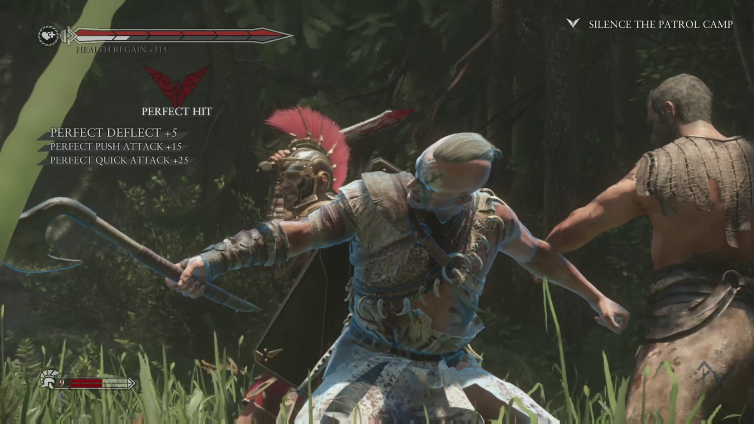 Warebox playing Ryse: Son of Rome