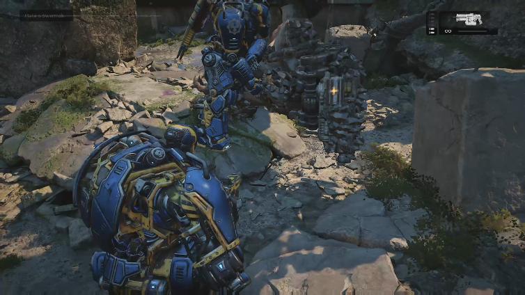 xXDarkff88Xx playing Gears of War 4