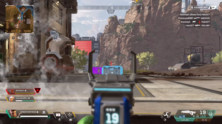 Apex Legends™ - Street147str1dr - Xbox Clips - Apex Legends Tracker
