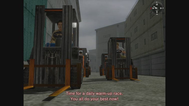 TheHOTPOCKET playing Shenmue